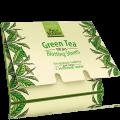 Матиращи кърпички за лице със зелен чай, 100 бр.